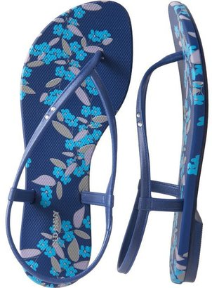 Women&#39;s Embellished Sling-Back Flip-Flops - Shoes