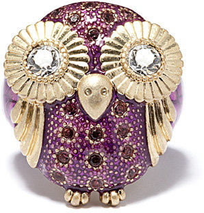 Owl Ring, Ships 8/10 - Statement Cocktail Rings