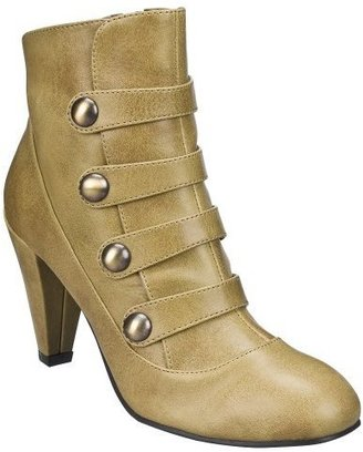 Women&#39;s Xhilaration Kamaria Ankle Boots - Tan - Xhilaration