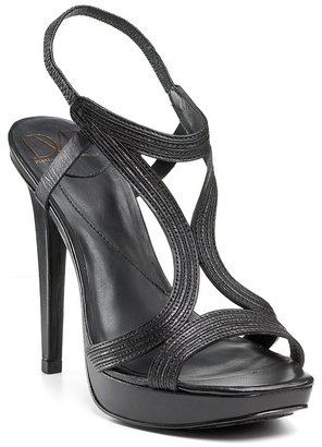 "Diane von Furstenberg ""Luna"" High Heel Strappy Sandals - Dress Like Demi Lovato"
