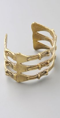 Alkemie Jewelry Triple Buckle Cuff - Jewelry