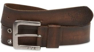 AE Grommet Leather Belt - Dress Like David Beckham 