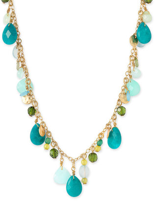 Lauren Multi Bead Drop Necklace - Lauren Ralph Lauren