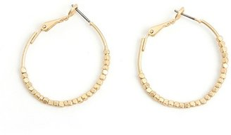 Ccc Metal Bead Hoops - Dress Like Adriana Lima