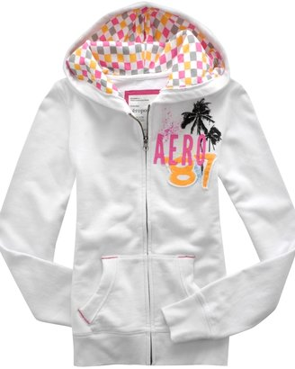 Surfer Chick Zip-Front Hoodie - Tops