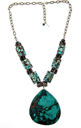 MINU Jewels Egyptian Turquoise Teardrop Pendant Necklace - Pendant Necklaces