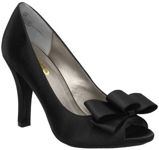 Me Too Josie Satin Peep Toe Pump - Peep Toe Pumps