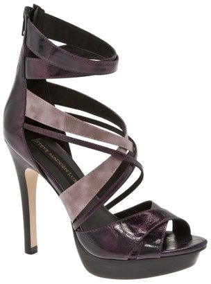Sm Luxe Stix Strappy Colorblock Platform Sandal - Strappy Sandals