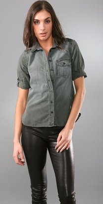 Equipment Short Sleeve Military Blouse - Clothes