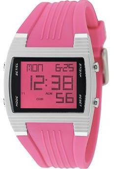 Digital Pink Crystal Dial - Pink Digital Watches