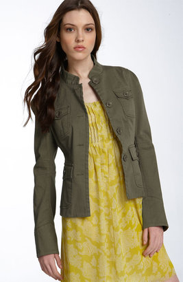 KennaT Stretch Cotton Military Jacket - Nordstrom