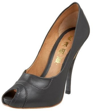 L.A.M.B. Women&#39;s Jamila Peep Toe Pump - L.A.M.B