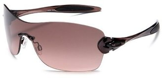 Oakley Women&#39;s Compulsive Squared Iridium Sunglasses - Athletic Shield Sunglasses