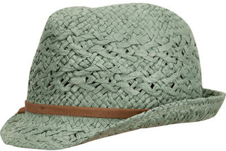 Straw Womens Fedora - Tilly&#39;s