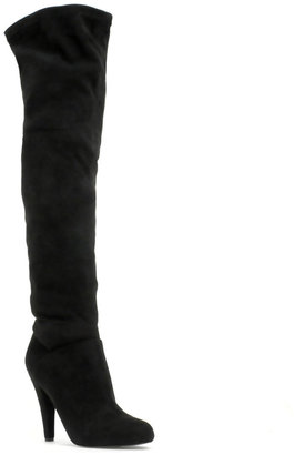 ASOS CHIC Stretch Over The Knee Boot - Asos
