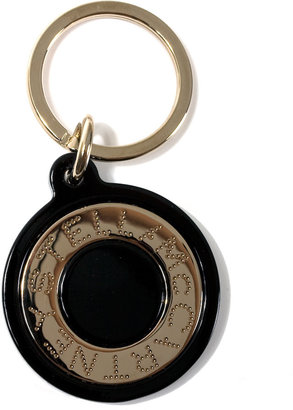 Stella McCartney Black logo keychain - Stella McCartney