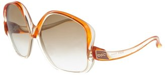 JACQUES FATH VINTAGE - Vintage oversize sunglasses - Sunglasses
