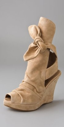 Tashkent By Cheyenne The Santo Wedge Booties - Heels