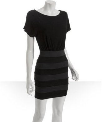 Wyatt black jersey combo bandage dress - Dresses &amp; Skirts