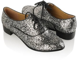 Jal-Jacko Glittered Oxfords - Boyish Brogues