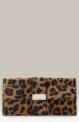 Jimmy Choo Leopard Print Clutch - Handbags
