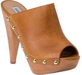 Steve Madden - Daynty Tan Leather - Chic and Easy Clogs