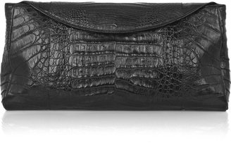 Nancy Gonzalez Large crocodile clutch - Nancy Gonzalez Handbags
