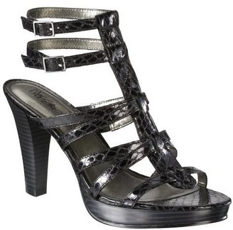 Women&#39;s Mossimo Vivienne Gladiator Sandals - Black - Shoes