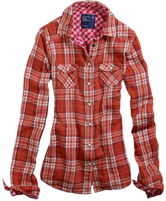 AE Western Double Weave Shirt - Clothes