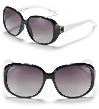 MARC BY MARC JACOBS Colorblock Logo Sunglasses - Marc Jacobs Sunwear