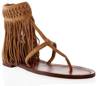 RALPH LAUREN - Fringe detail sandals - Shoes