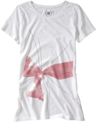 Gap (PRODUCT) RED bow T - Gap
