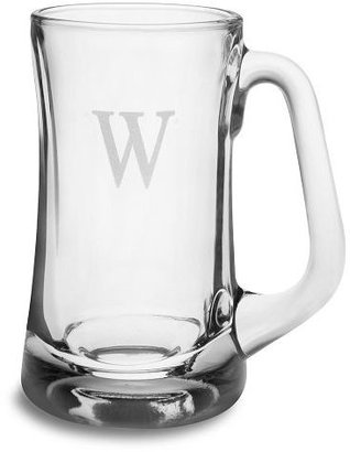 Monogrammed Beer Mug, Set of 4 - Father's Day Gifts Under 100 Dollars