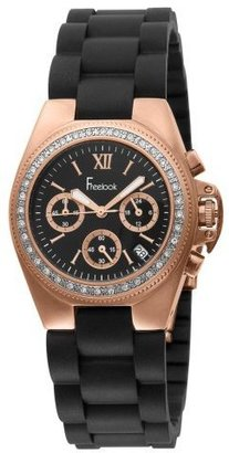 Freelook Women&#39;s HA5204CHRG-1 Aquamarina Rose Gold Plated Stainless Steel Watch - Rose Gold Watches
