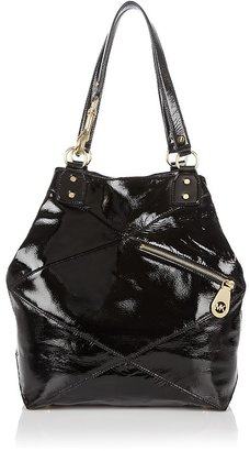 MICHAEL Michael Kors Pasadena Patent Leather Grab Bag - Handbags