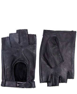 ASOS Leather Fingerless Driving Gloves - Fingerless Gloves