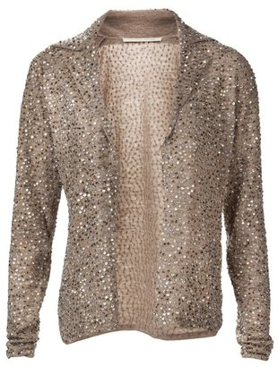 TWELFTH STREET BY CYNTHIA VINCENT - Wool sequin sweater - Sequined Sweaters