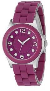 "Marc by marc jacobs ""pelly"" magenta watch - Funky Colored Watches"