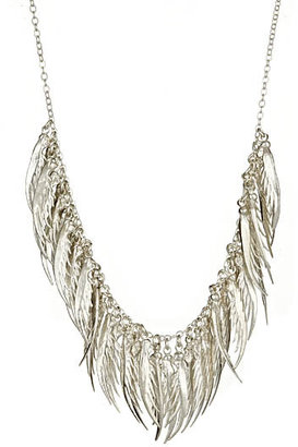 Catherine Weitzman Full Feather Drape Necklace - Catherine Weitzman Necklaces