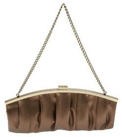 La Regale Oversized Metallic Clutch - Designer Purse Parties