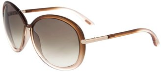 TOM FORD - circle/oval graduating plastic sunglasses - Tempting Tom Ford Sunglasses