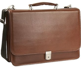 McKlein USA Lexington Double Compartment Laptop Case - eBags