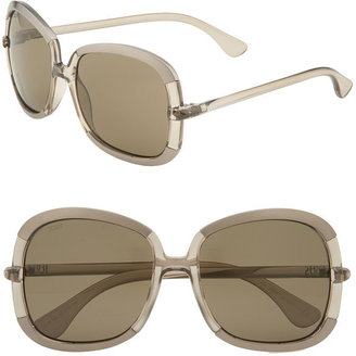 Tod&#39;s Metal Tipped Oversized Sunglasses - Tod&#39;s Sunglasses