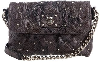 MARC JACOBS - Python effect quilted bag - Shoulder Bags