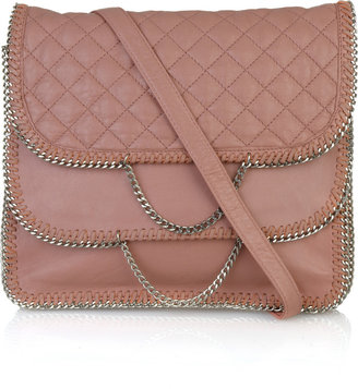 DKNY Quilted-leather chain-trim bag - Handbags