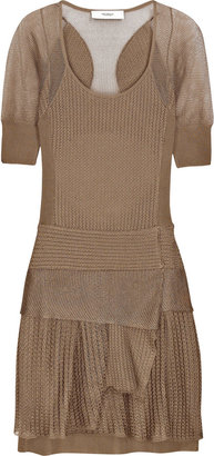 Pringle of Scotland Cutout silk-knit dress - Pringle