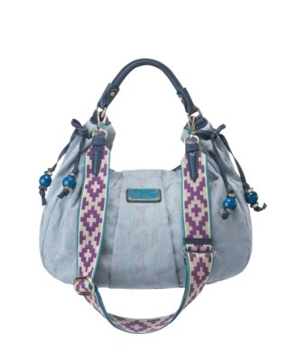 MARC by Marc Jacobs Lila Quilted Denim Hobo - Shoulder Bags