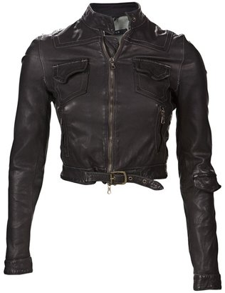 BLUR LEATHER - Mara jacket - Clothes