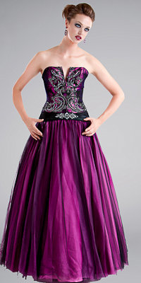 Burgundy Ball Gowns by Jovani - Princess Dresses