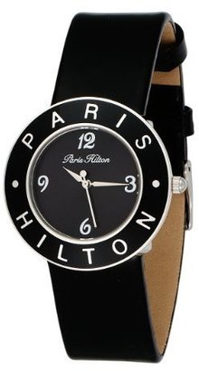 Paris Hilton Women's 138.5093.60 Logo Black Dial Watch - All Things Paris